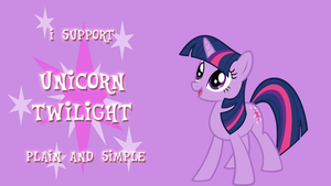 I Support Unicorn Twilight by kwark85