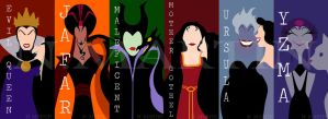 Two Faced Villains (Disney) by NMartin95