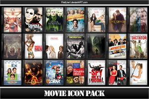 Movie Icon Pack 55 by FirstLine1