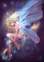 Butterfly fairy: collab work by NaNinna