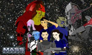 Mass Effect The Anime by Johnlennondude