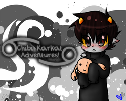 Chibi Karkat Adventures +NEW COVER+ by IZfan4life