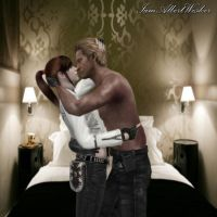WeskerXClaire-Intimacy by IamAlbertWesker