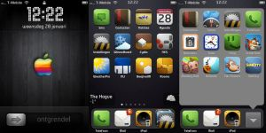 iPhone in January 2009 by ArnoldRoelz