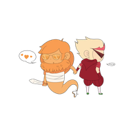 Chibi Davesprite Dirk [ Gif ] by TamaCorp