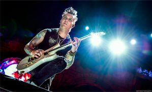 Synyster Gates, Avenged Sevenfold - Mayhem Fest by lizzys-photos