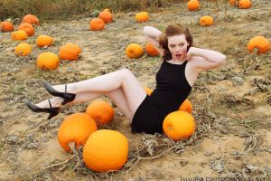 Pumpkin Patch Pin-up 5 by fairiegrl