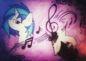 Duo musicians  by Kaboderp-sketchy