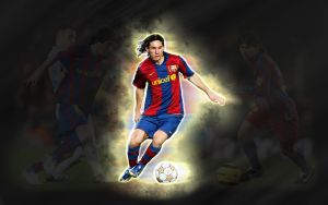 Lionel Messi wallpaper 2 by cesaraquino