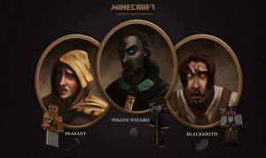 MineCraft Medieval Heroes by lord-phillock