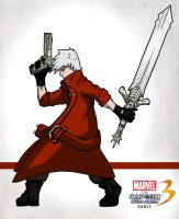 Marvel Vs Capcom 3 - Dante by taves