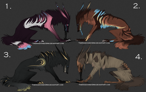 Devil Dog Adopts :closed: by CandyBrains