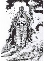 The Punisher Ink by BrenGun