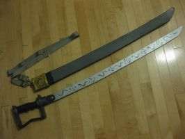 Major General Olivier Mira Armstrong sword by DaftVirus