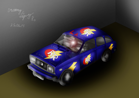 Lada car in RR style by RomanDrommyLightyear