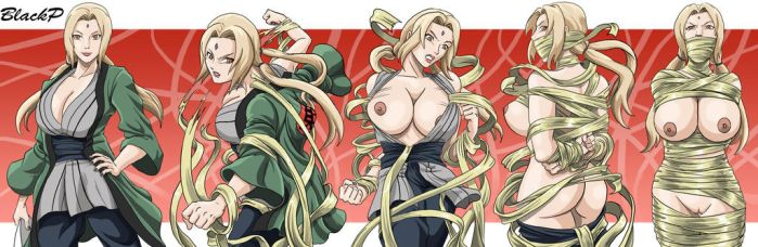 The evolution of Tsunade by BlackProf