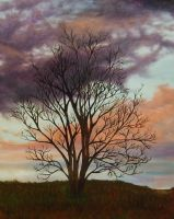 Sunrise at Flats - Painting by Artman225