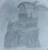 Hogwarts drawing by 15kimmy
