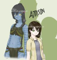 Avatar OC Addison by SuperXLilXCutie