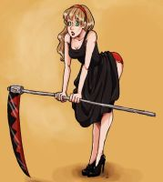 Pin Up Maka by guardian-angel15
