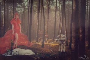Red Riding Hood by MeganLeeRetouching