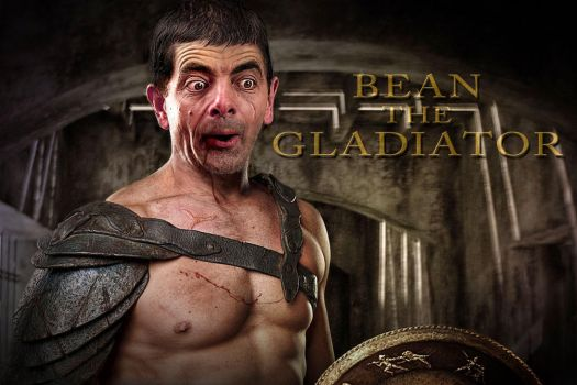 Bean The Gladiator by RodneyPike