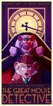 The Great Mouse Detective Art Deco Poster by Chernin