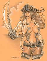 Capn' Witchblade by 93Cobra