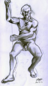 Figure Drawing 3 by Kanosui