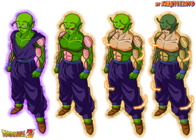 piccolo dragon mode by Naruttebayo67