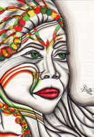 Indian Woman by bamboomc