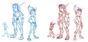 Jak and Dax improvement sort of thing by C-Puff
