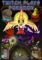 Twitch Plays Pokemon Movie Poster by digitalcolombian