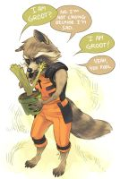 GOTG - Not Crying by zzigae