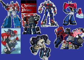 The Might Optimus Prime by sicko69