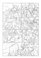 Wolf Night Wolf Comic Book Issue #1 Page 18 by bokuman
