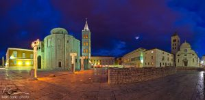 Evening in town II by ivancoric