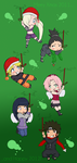 .:The.Naruto.Xmas.Ornaments.:. by Ino-chan