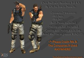 Chris Redfield RE 4.5 (Beta) [Download Available] by xXLife-Starts-NowXx