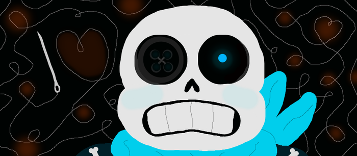 ButtonTale Sans by Slimelover1cool