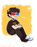 Sollux Chibi Commission by Harumi-Chan