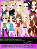 PNG Mu~ecas  PNG Dolls by VickyEditions