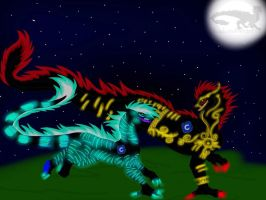 Dragons of the Moonstar Clan-Run Under the Stars by ShardianofWhiteFire