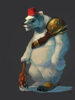 lol_bear_painted by Icecoldart