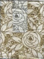 Mettalic Fabric Floral by Jaxxys-Stock