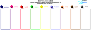 Emoticlones Meme by zigaudrey
