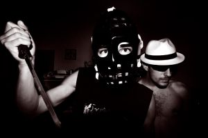 The mask and the hat by Youth-Defenestration
