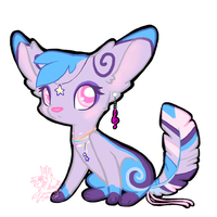 Custom Feathertail: VioletteFoxx by CoffeeCupPup
