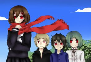 Ayano's Theory of Happiness by SkullDead
