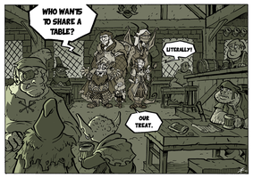 Dungeons and Dragons - Bar Joke by Boredman